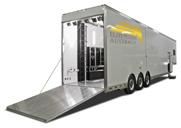 Elite Floats Australia Toy Hauler