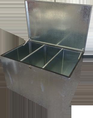 Three compartment Feed Bin