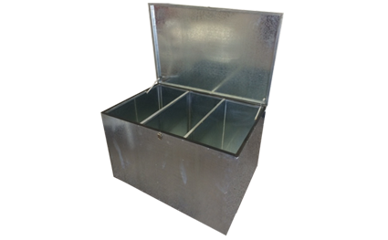 Three compartment Feed Bin